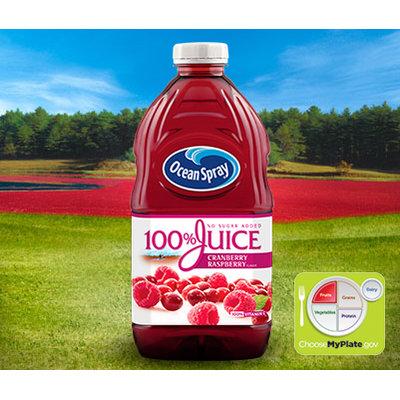 Ocean Spray Cranberry Raspberry 100% Juice Blend