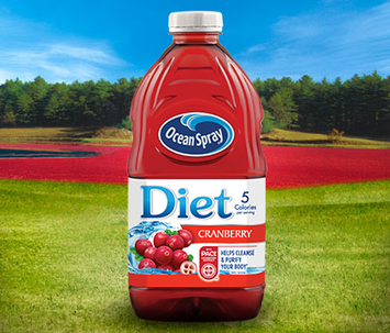 Ocean Spray Diet Cranberry Juice Drink