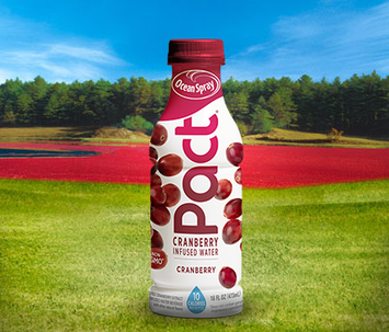 Ocean Spray Pact Cranberry Infused Water Cranberry