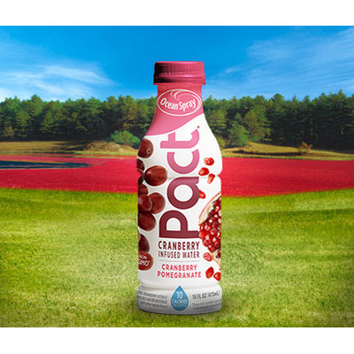 Ocean Spray Pact Cranberry Infused Water Cranberry Pomegranate