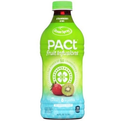 Ocean Spray Pact Fruit Infusions Strawberry Kiwi Juice Drink