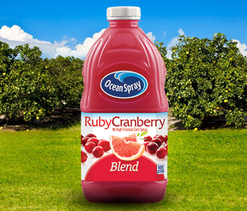 Ocean Spray Ruby Cranberry Blend Juice Drink