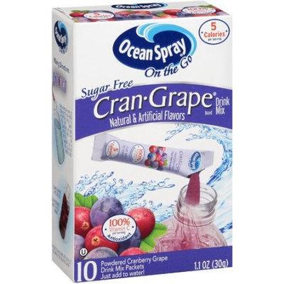 Ocean Spray Sugar Free Cran Grape Drink Mix