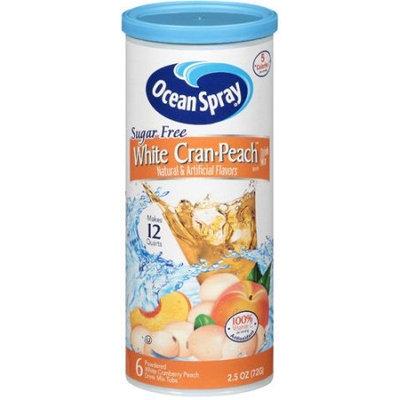 Ocean Spray Sugar Free White Cran Peach Drink Mix