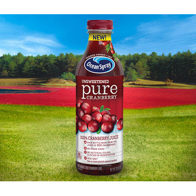 Ocean Spray Unsweetened Pure Cranberry Juice