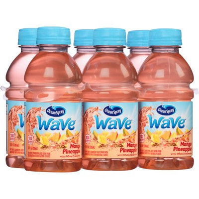Ocean Spray Wave Fruit Juice Mango Pineapple With White Cranberry