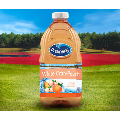Ocean Spray White Cranberry and Peach™ Juice Drink