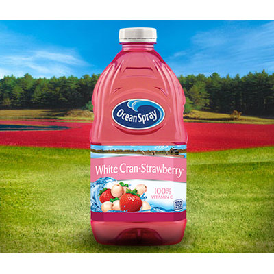 Ocean Spray White Cranberry and Strawberry Juice Drink