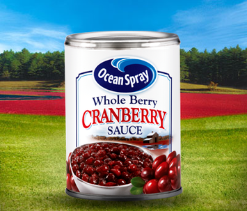 Ocean Spray Whole Berry Cranberry Sauce