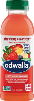 Odwalla® Strawberry C Monster™ Smoothie Juice