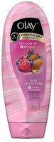 Olay 2-in-1 Essential Oils Ribbons Almond Oil + Silky Berry Moisturizing Body Wash