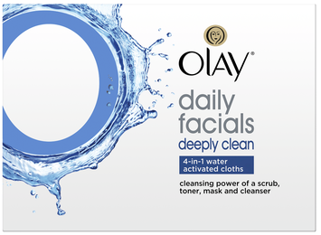 Olay 4-in-1 Daily Facial Cloths Combination/Oily Skin