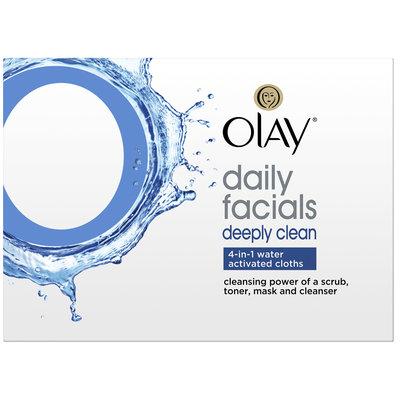 Olay 4-in-1 Daily Facial Cloths Combination/Oily Skin