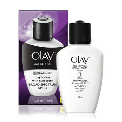 Olay Age Defying Anti-wrinkle Day Lotion With Sunscreen Broad Spectrum Spf 15