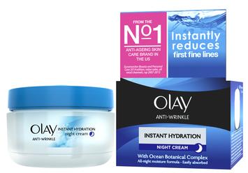 Olay Anti Wrinkle Instant Hydration Night Cream