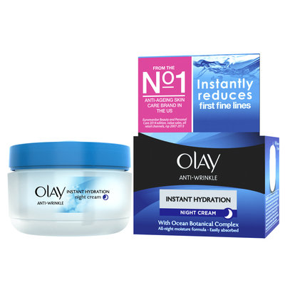 Olay Anti Wrinkle Instant Hydration Night Cream