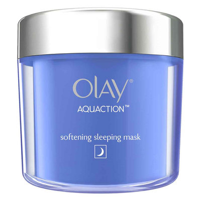 Olay Aquaction Softening Sleeping Mask