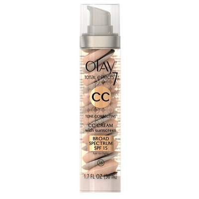 Olay Total Effects 7 Tone Correcting Moisturizer Spectrum SPF 15 CC Cream