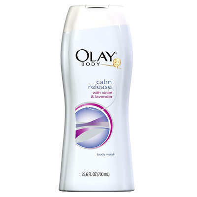Olay Calm Release Lotion Violet And Lavender Body Wash