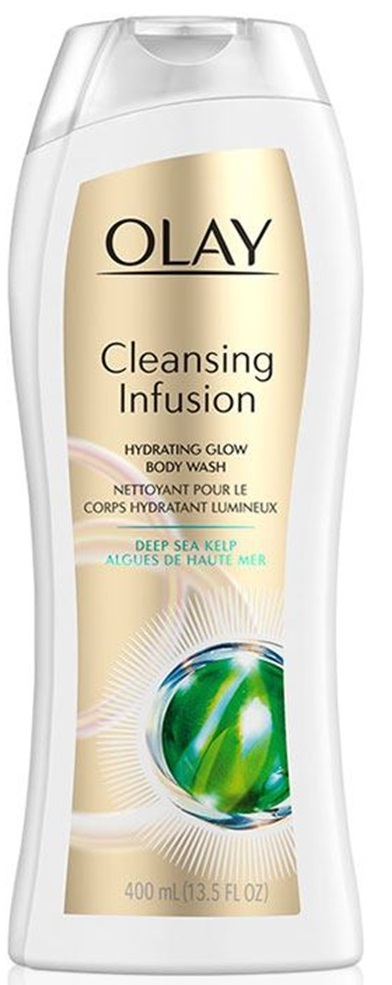 Olay Cleansing Infusion Hydrating Body Wash With Deep Sea Kelp