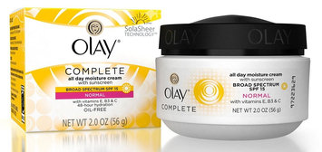 Olay Complete Cream All Day Moisturizer with Sunscreen Broad Spectrum Spf 15 Normal