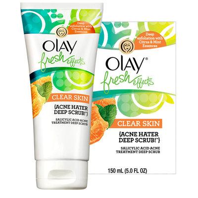 Olay Fresh Effect Acne Hater Deep Scrub