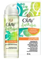 Olay Fresh Effect Clear Skin Peau Nette Swirled Mattifier Redness & Pore Reducing Mattifier