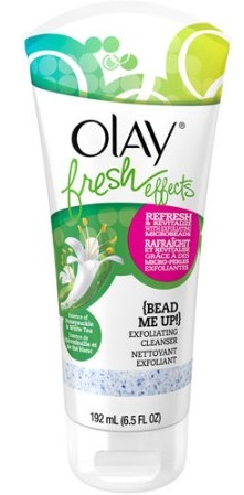 Olay Fresh Effects Bead Me Up Exfoliating Facial Cleanser