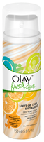Olay Fresh Effects Out Of This Swirled! Deep Pore Clean Plus Exfoliating Scrub Essence of White GrapeFruit And Green Tea
