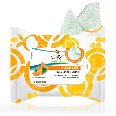 Olay Fresh Effects S'wipe Out! Refreshing Make-up Removal Cloths
