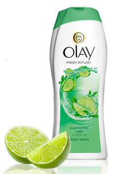 Olay Fresh Outlast Energizing Lime & White Tea Body Wash