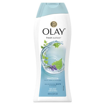 Olay Fresh Outlast Purifying Birch & Lavender Body Wash