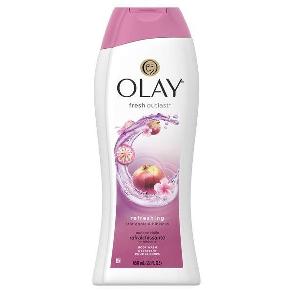 Olay Fresh Outlast Star Apple Hibiscus Body Wash
