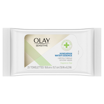 Olay Sensitive Calming Make Up Remover Wipes with Hungarian Water Essence