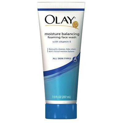 Olay Moisture Balancing Foaming Face Wash with Vitamin E