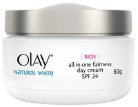 Olay Natural White Rich All In One Fairness Day Cream