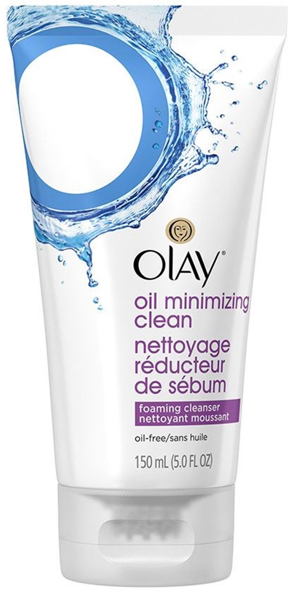 Olay Oil Minimizing Clean Foaming Face Cleanser
