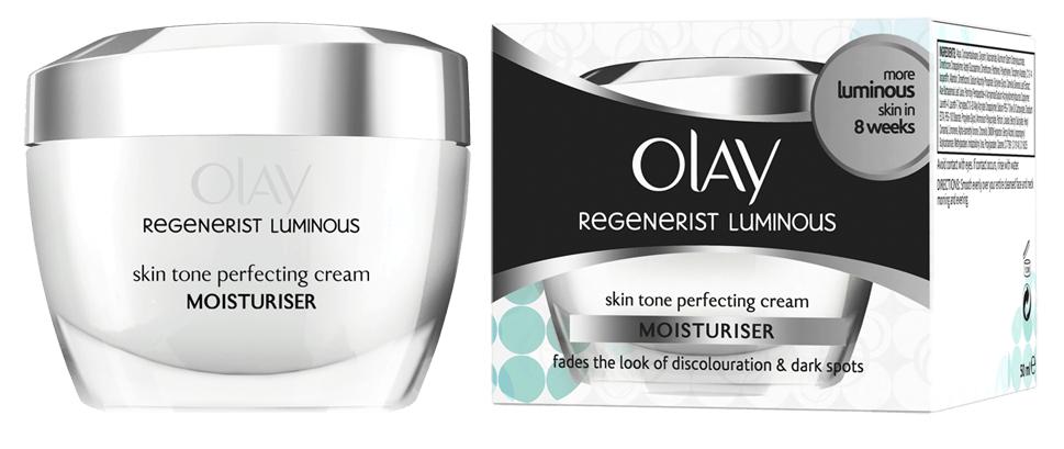 Olay Regenerist Luminous Skin Tone Perfecting Cream