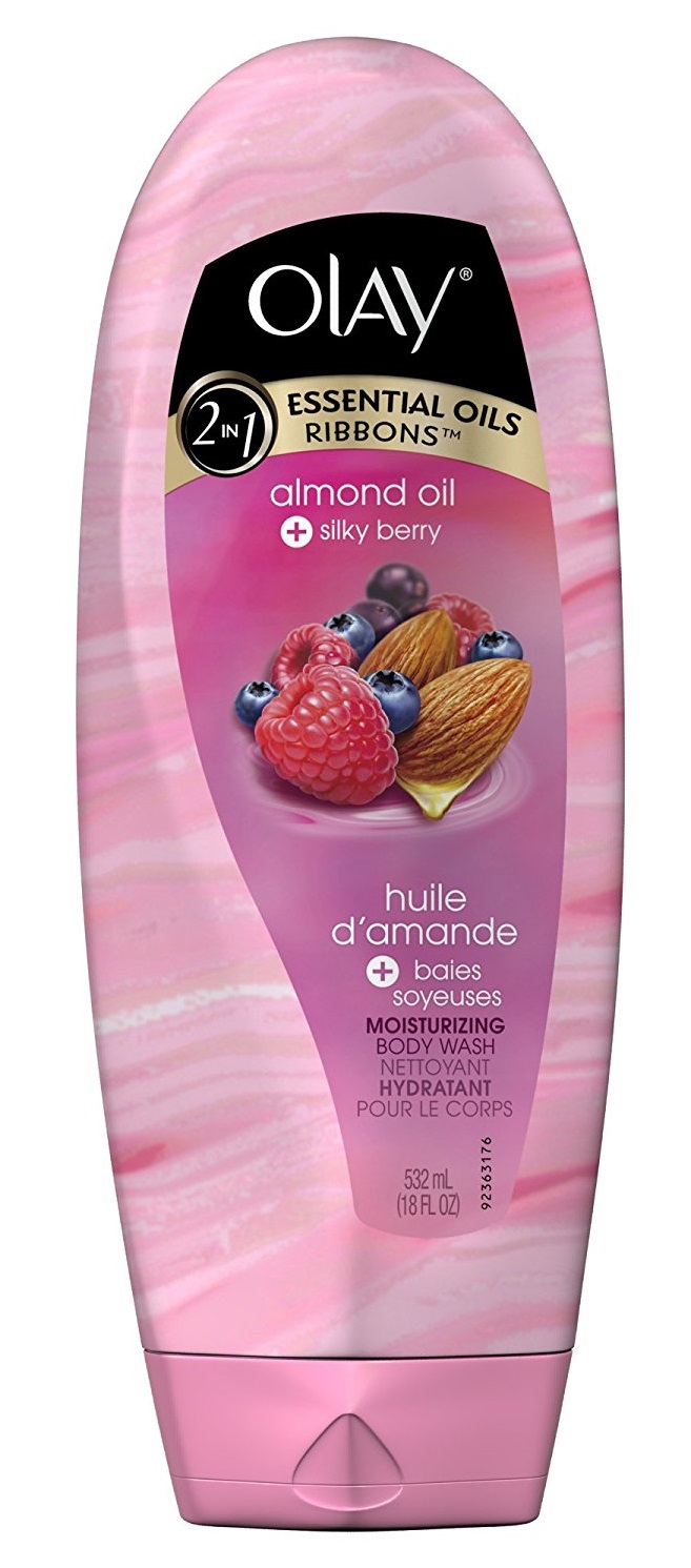 Olay Silk Whimsy Moisturizing Body Wash Rose Extract & Almond Oil