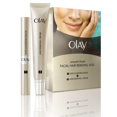Olay Smooth Finish Facial Hair Remover Duo Fine To Medium Hair