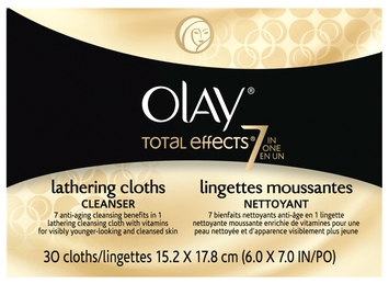 Olay Total Effects 7 In 1 Anti Aging Cleanser Lathering Cleansing Cloths
