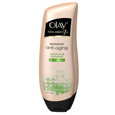 Olay Total Effects 7 in One Advanced Anti Aging Exfoliate & Replenish Body Wash
