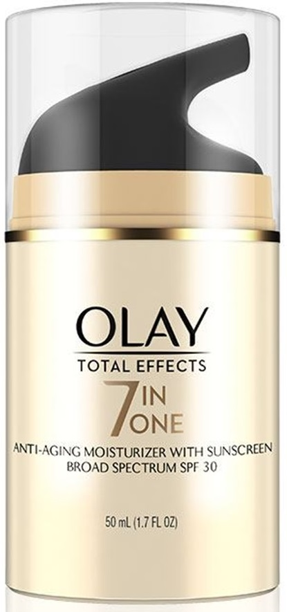 Olay Total Effects Anti Aging Daily Moisturizer SPF 30 With Solasheer Technology