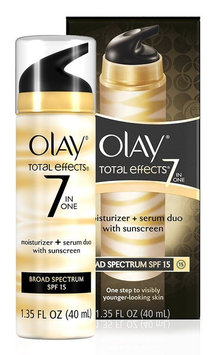 Olay Total Effects Moisturizer + Serum Duo with Broad Spectrum SPF 15