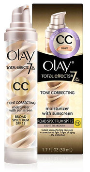 Olay Total Effects Tone Correcting CC Cream with SPF 15 Light To Medium