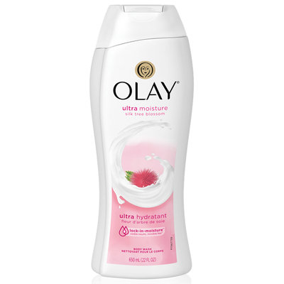 Olay Ultra Moisture Silk Tree Blossom Body Wash