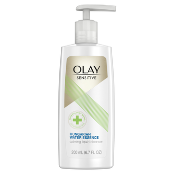 Olay Sensitive Calming Liquid Cleanser with Hungarian Water Essence