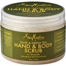 SheaMoisture Olive & Green Tea Hand & Body Scrub