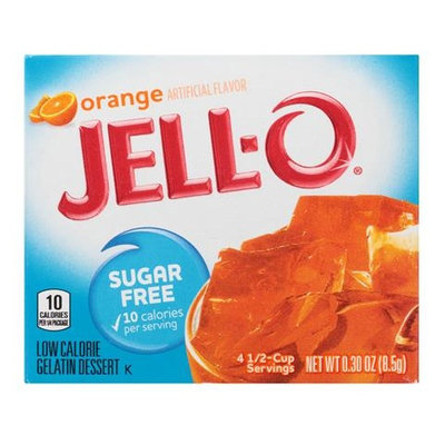 JELL-O Sugar Free Orange Gelatin Dessert