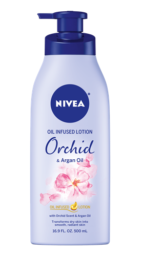 NIVEA Orchid & Argan Oil Infused Lotion
